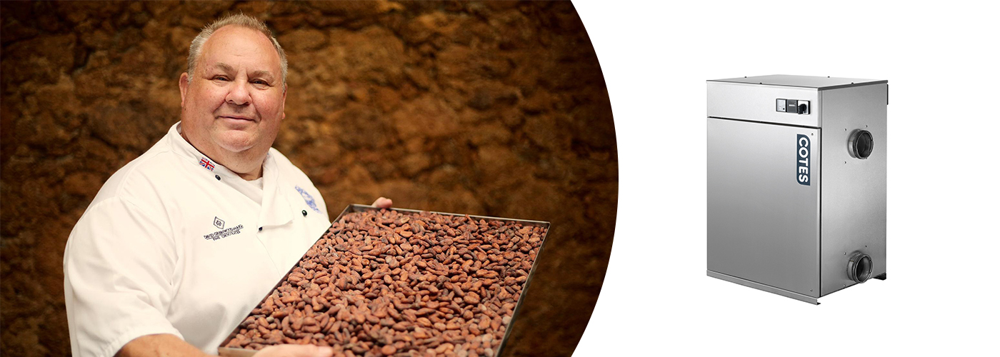 Ambale Dehumidifiers for Chocolate Manufacturing in New Zealand