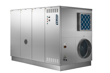 Large Desiccant Dehumidifiers for Pharmaceutical Storage areas and Pharma Warehouses