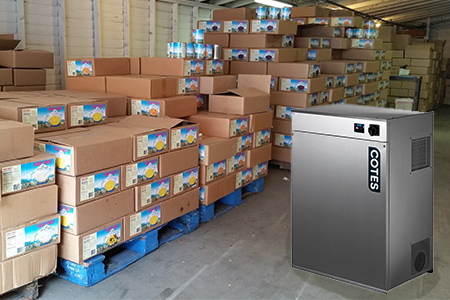 Ambale Dehumidifiers for Food Industries such as Product Drying
