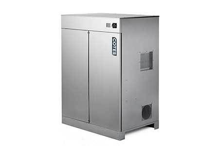 Large Desiccant Dehumidifiers for Waterworks in New Zealand