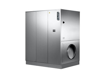 Large ducted dehumidifier machines for steel factories in NZ